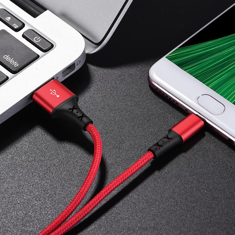 borofone bx20 enjoy micro usb charging data cable charger