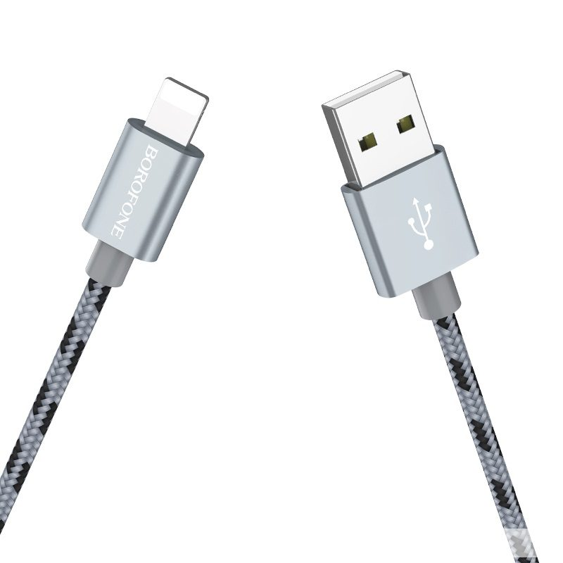 borofone bx9 magicsync lightning usb charging data cable connectors