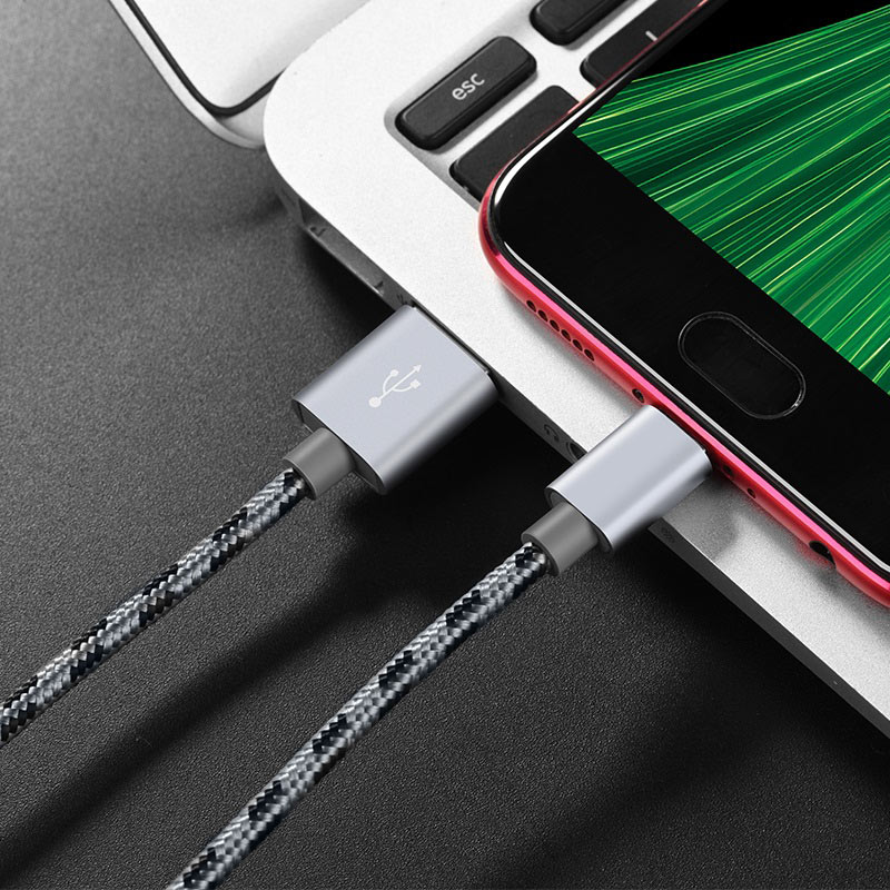 borofone bx9 magicsync micro usb charging data cable charger