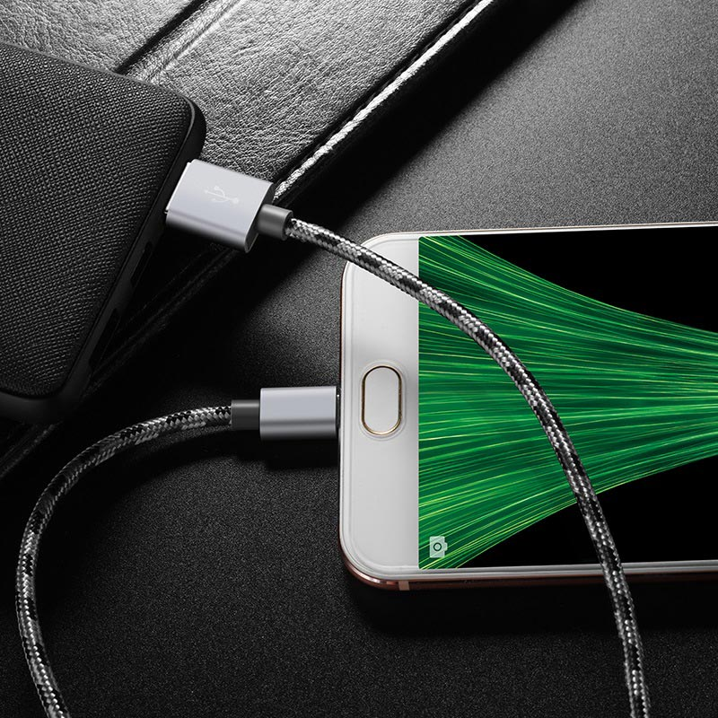 borofone bx9 magicsync micro usb charging data cable wire
