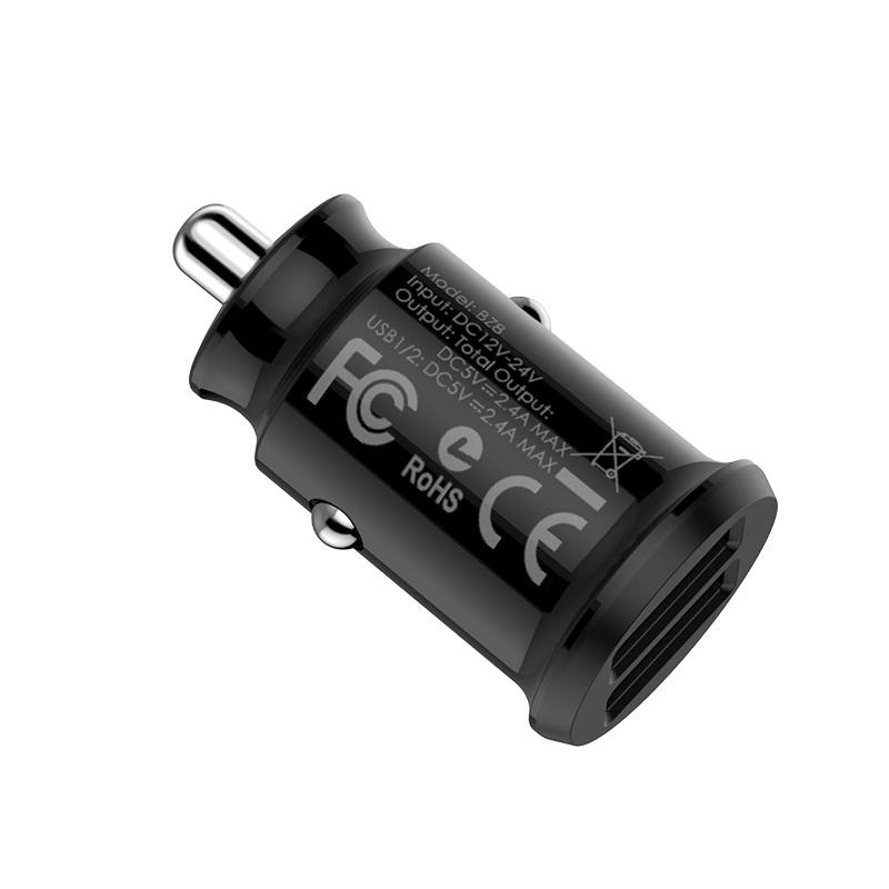 In-car charger BZ8 MaxRide   BOROFONE