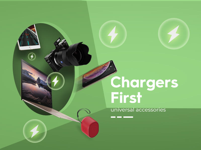 borofone news new arrival chargers banner