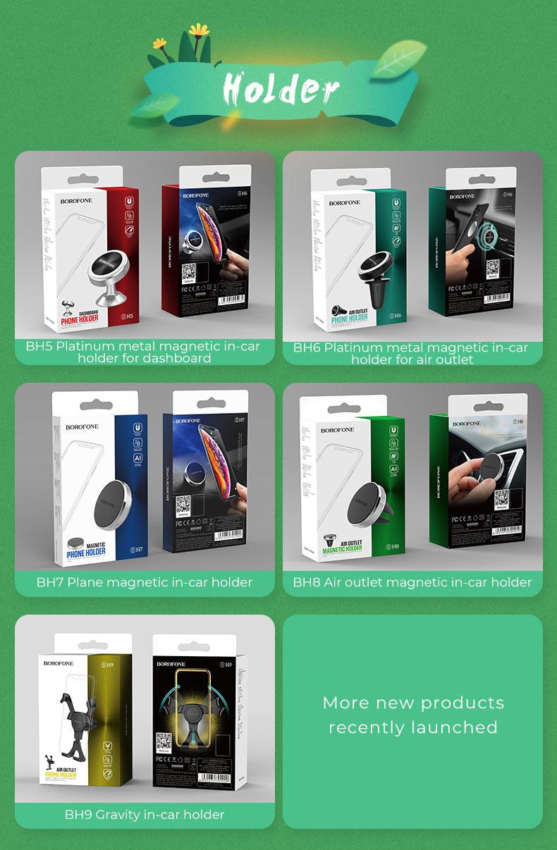 borofone news new arrival in car phone holders main