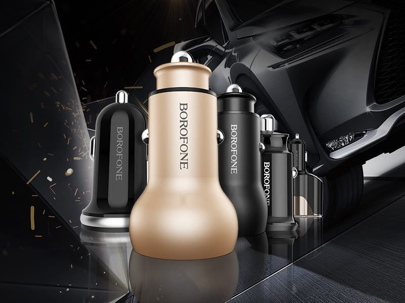 borofone news z series in car charger banner