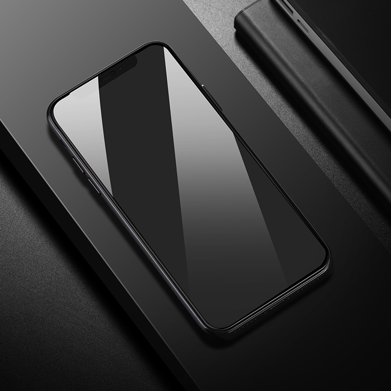 borofone bf1 gentouch 3d full screen tempered glass protector for iphone xr xs max overview