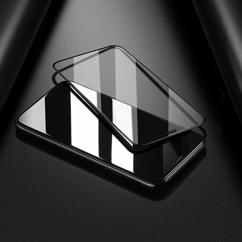 borofone bf1 gentouch 3d full screen tempered glass protector for iphone xr xs max thin