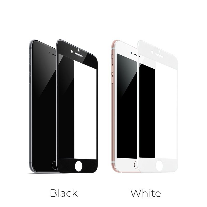 borofone bf2 freetouch 2.5d tempered glass screen protector for iphone 6 6s colors