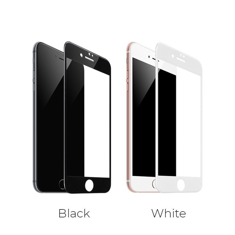 borofone bf2 freetouch 2.5d tempered glass screen protector for iphone 7 8 colors