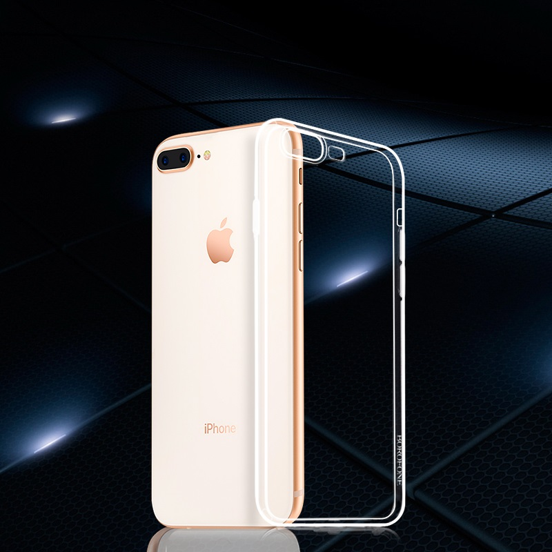 borofone bi1 icrystal protective case iphone 7 plus 8 plus overview