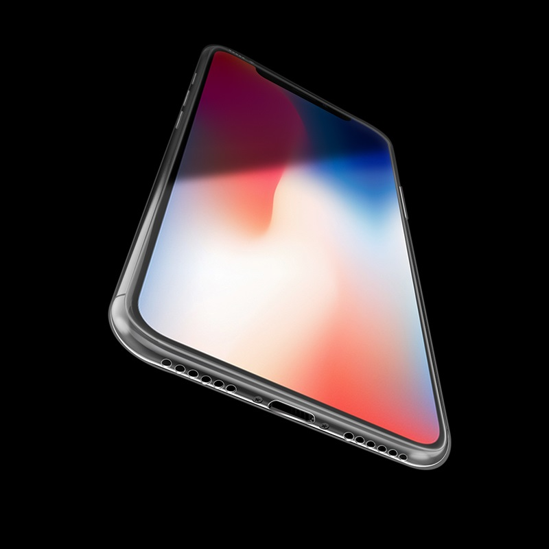borofone bi1 icrystal protective case iphone x bottom