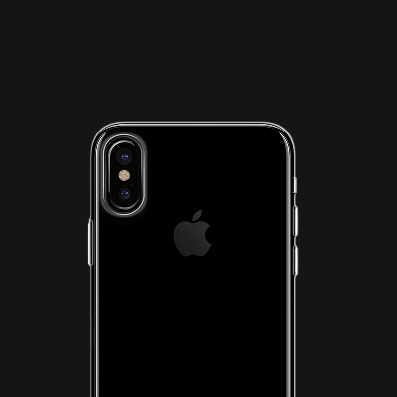borofone bi1 icrystal protective case iphone x camera