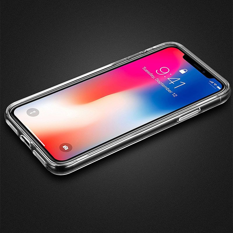 borofone bi1 icrystal protective case iphone x keys