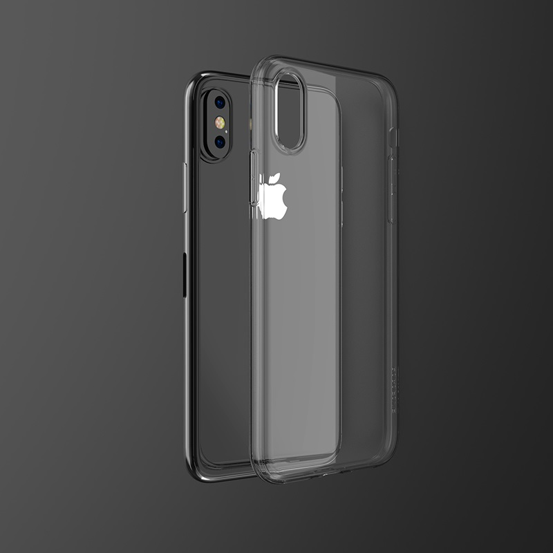 borofone bi1 icrystal protective case iphone x xs xr xs max clear