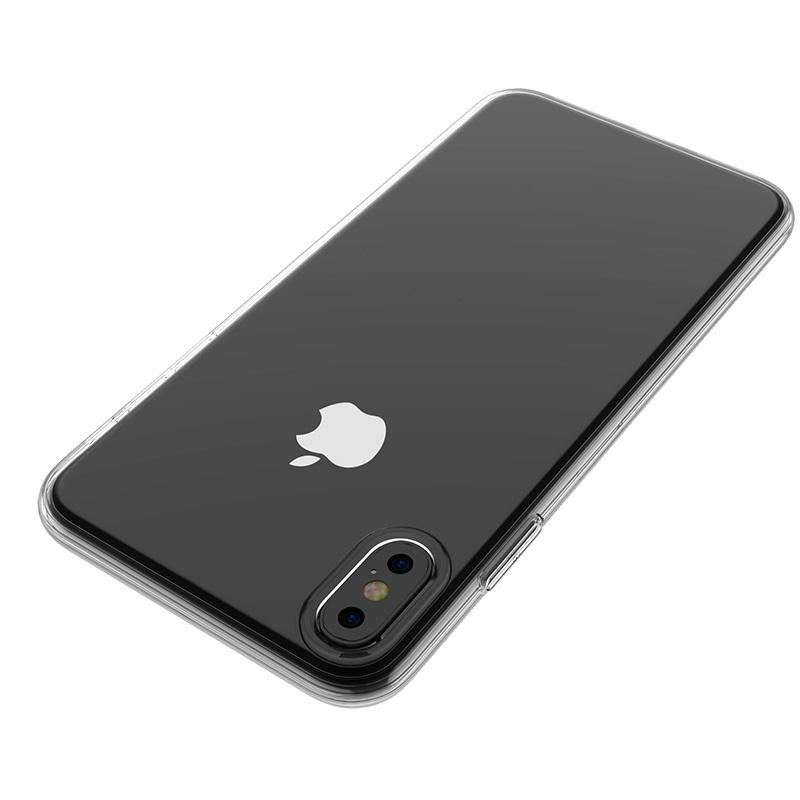 borofone bi1 icrystal protective case iphone x xs xr xs max logo