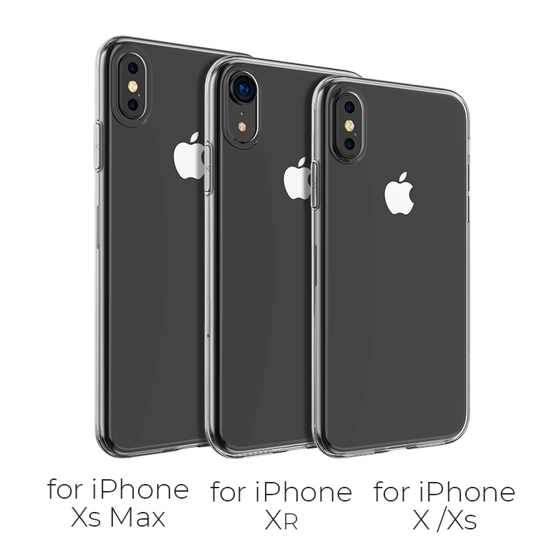 borofone bi1 icrystal protective case iphone x xs xr xs max models