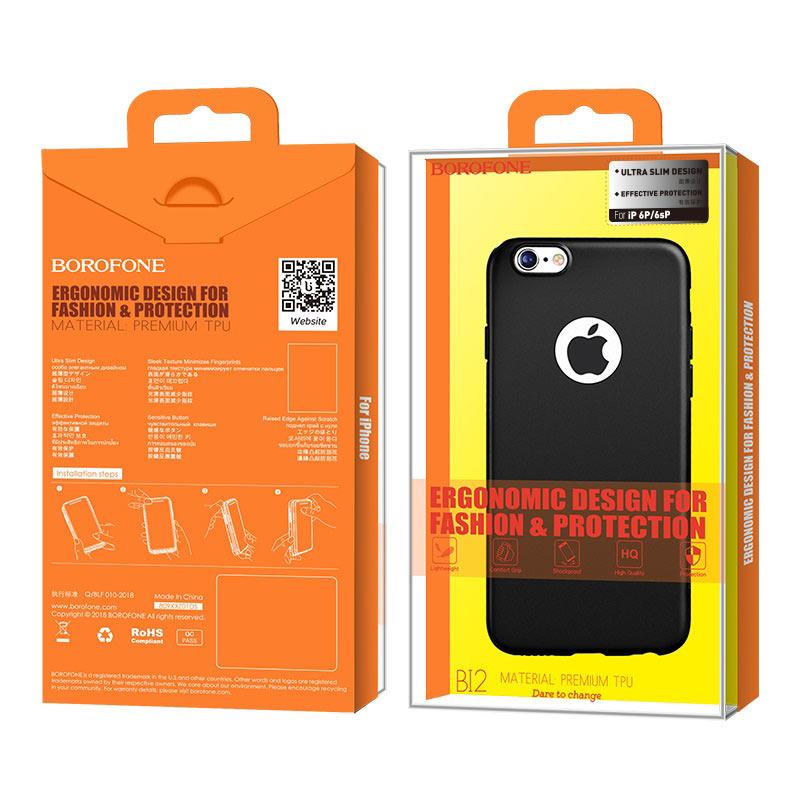 borofone bi2 genfeel protective case iphone 6 plus 6s plus package