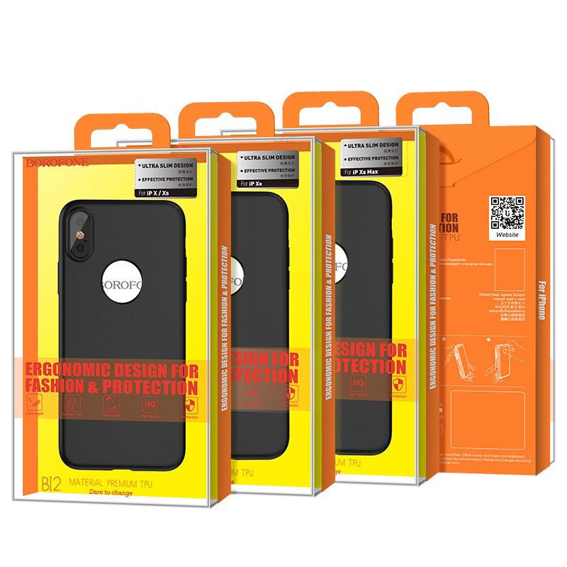 borofone bi2 genfeel protective case iphone x xs xr xs max package