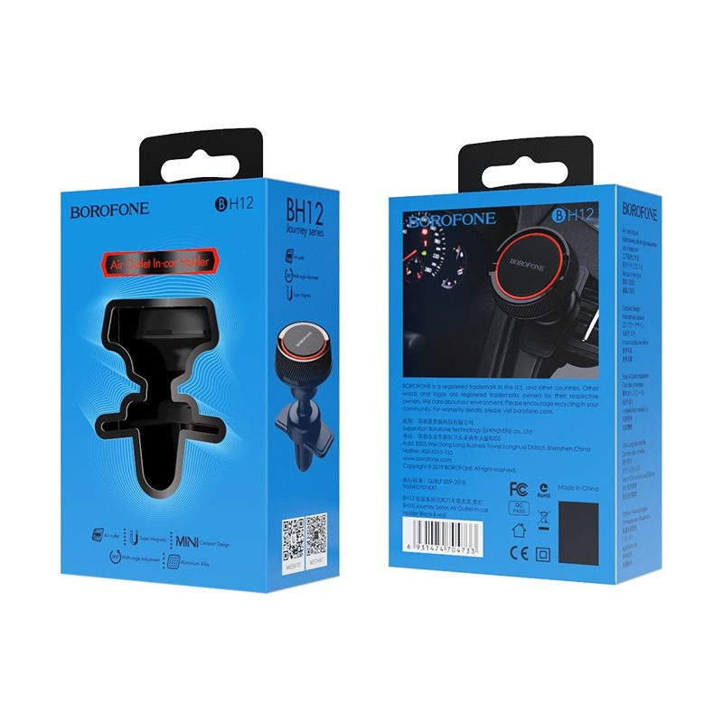 borofone bh12 journey series air outlet in car holder packages