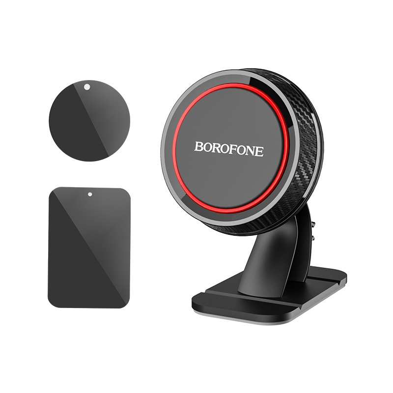 borofone bh13 journey series center console in car holder magnet sticker