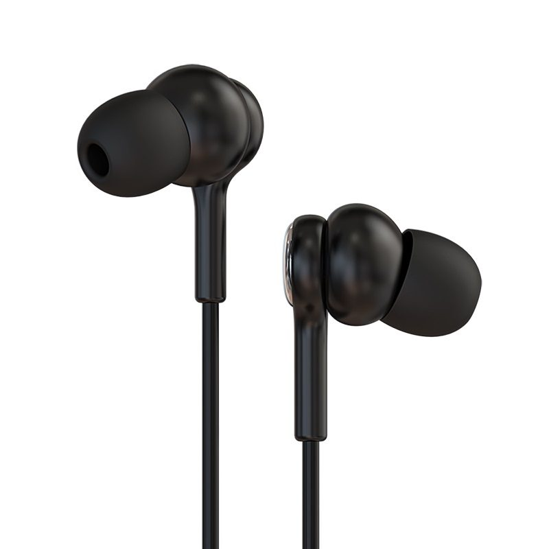 borofone bm33 complacent universal wired earphones with mic