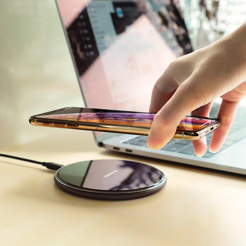 borofone bq3 preference wireless charger desktop