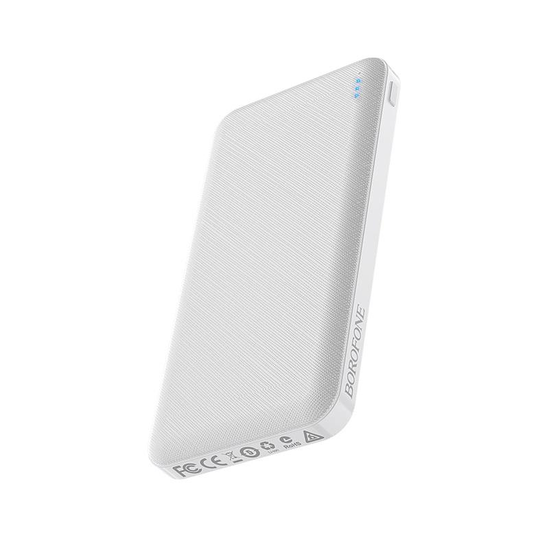borofone bt20 powerful mobile power bank 10000mah bottom