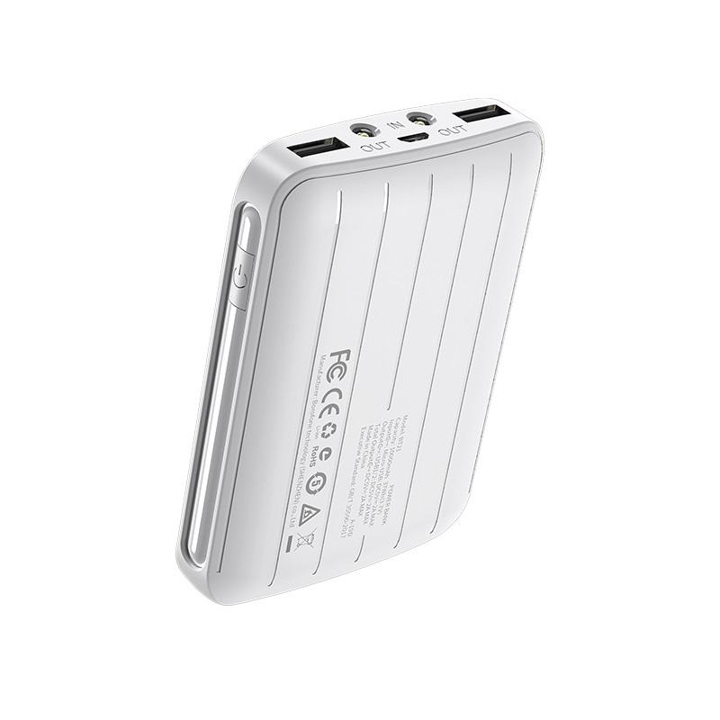 borofone bt21 universal energy mobile power bank 10000mah specs