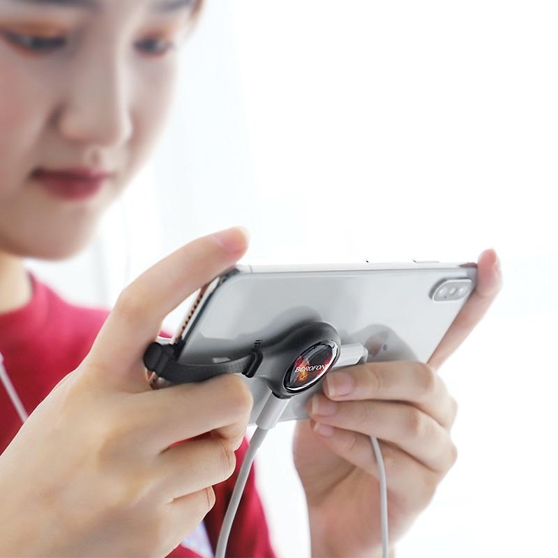 borofone bv10 discovery apple dual lightning digital audio converter women