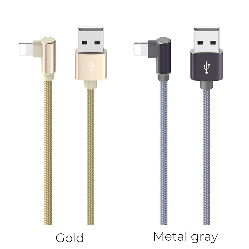 borofone bx26 express charging data cable for lightning colors