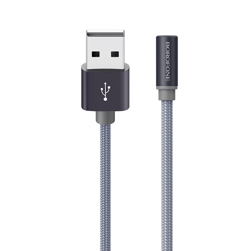 borofone bx26 express charging data cable for micro usb logo