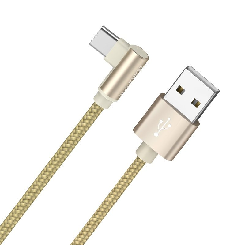 borofone bx26 express charging data cable for usb c braid