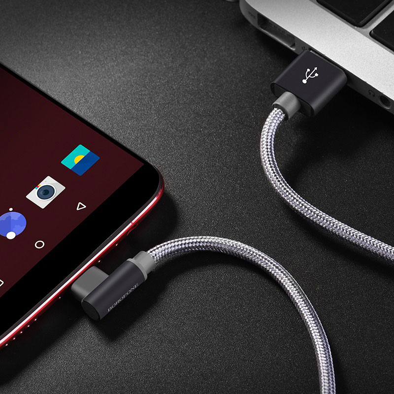 borofone bx26 express charging data cable for usb c charging