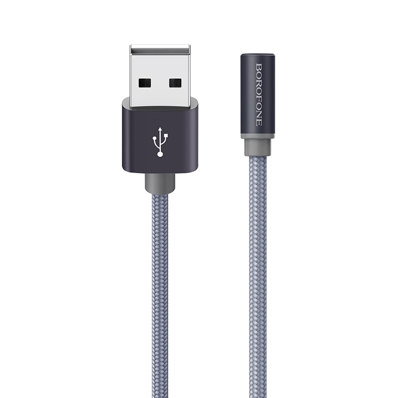 borofone bx26 express charging data cable for usb c logo