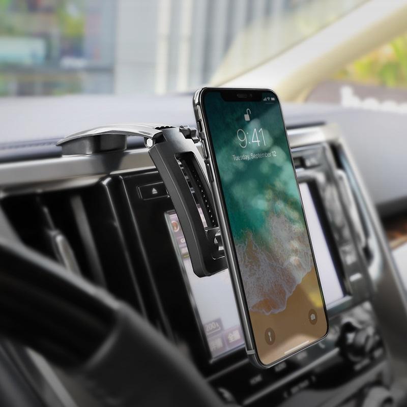 borofone bh17 ice jade center console car holder interior