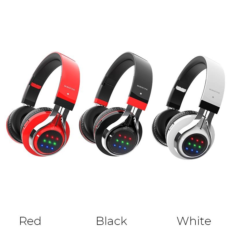 borofone bo8 love song wireless headphones colors