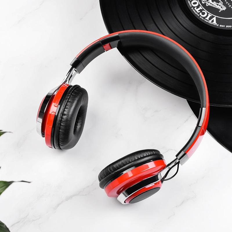 borofone bo8 love song wireless headphones interior
