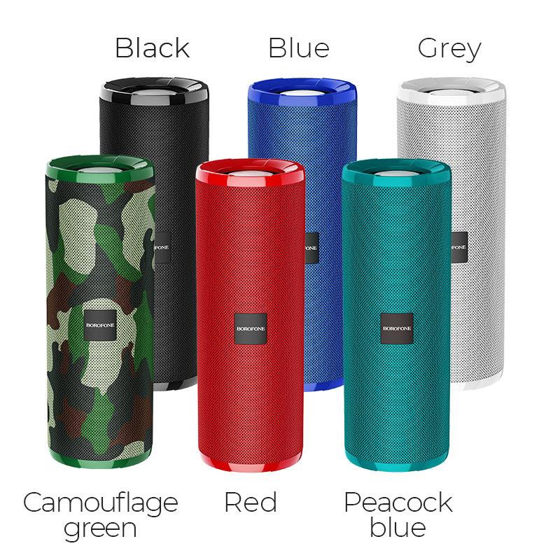 borofone br1 beyond sportive wireless speaker colors