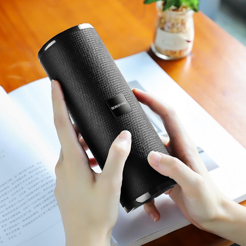 borofone br1 beyond sportive wireless speaker interior