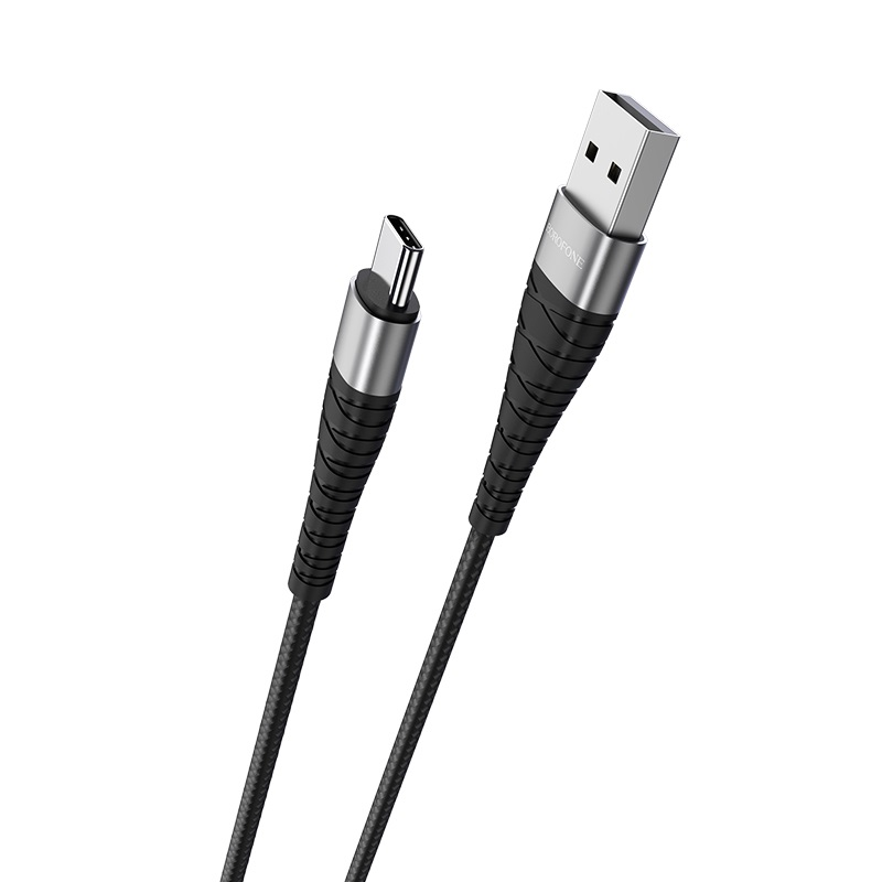 borofone bx32 munificent charging data cable for type c connectors
