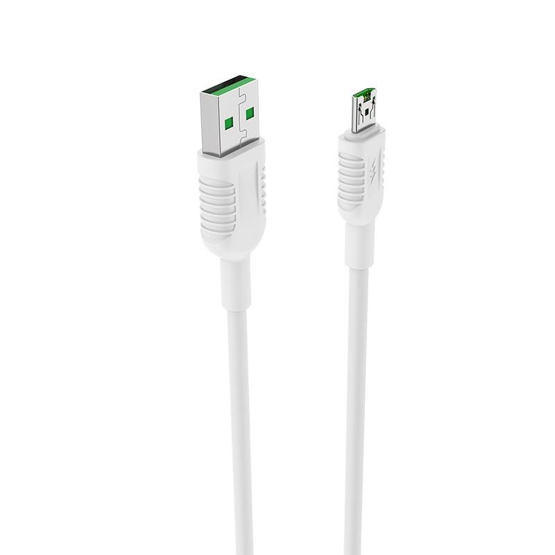 borofone bx33 4a billow flash charging data cable micro usb design