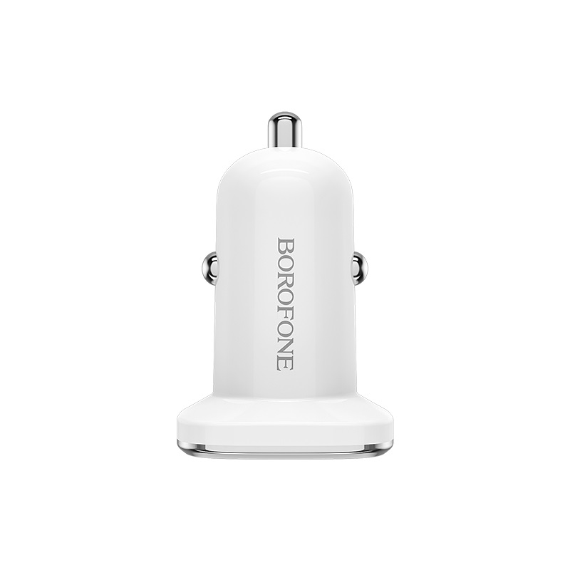borofone bz12a lasting power qc30 single port in car charger front