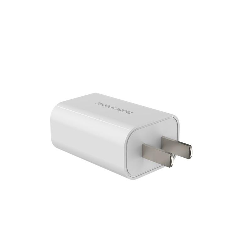 borofone ba33 fast joy single port charger pins
