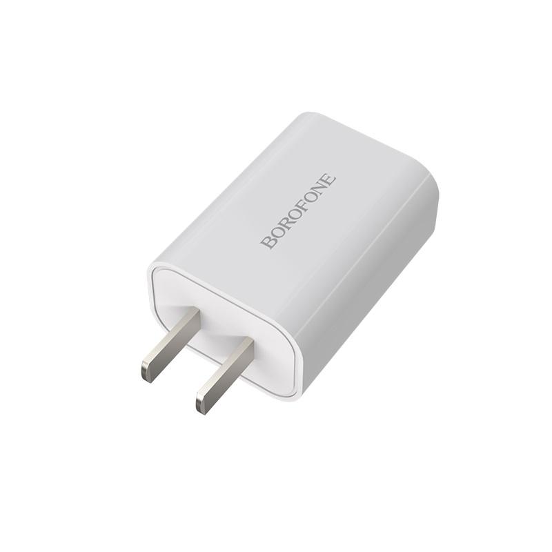 borofone ba33 fast joy single port charger plug