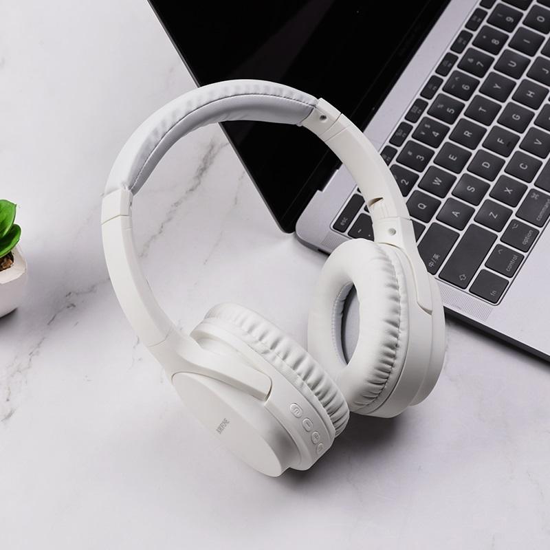 borofone bo7 broad sound wireless headphones interior