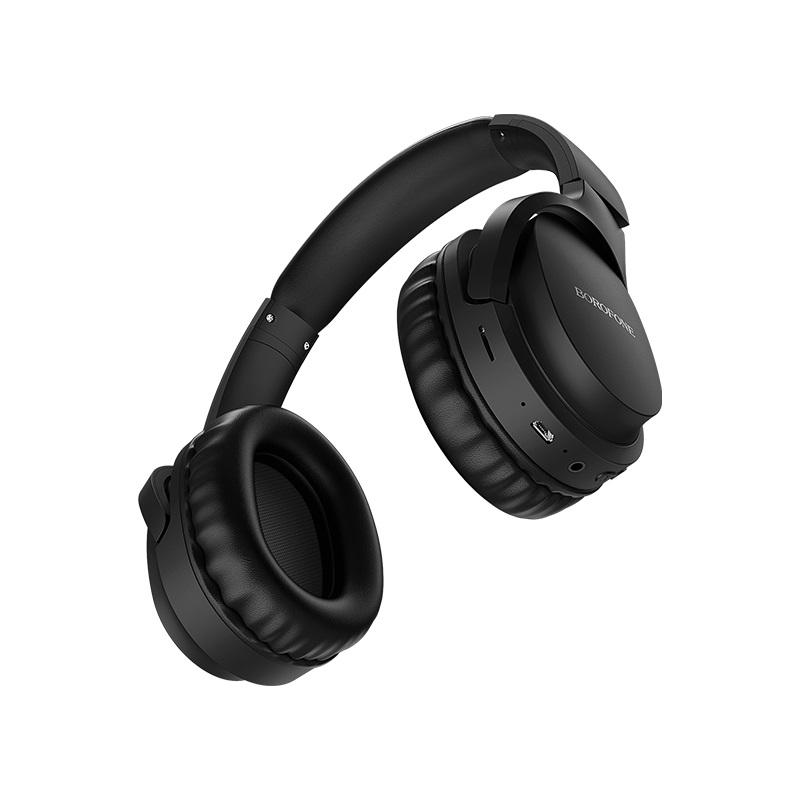 borofone bo7 broad sound wireless headphones ports