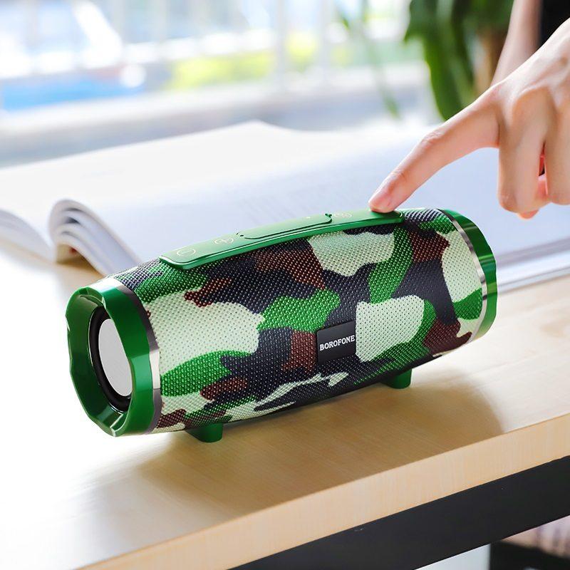 borofone br3 rich sound sports wireless speaker outdoor