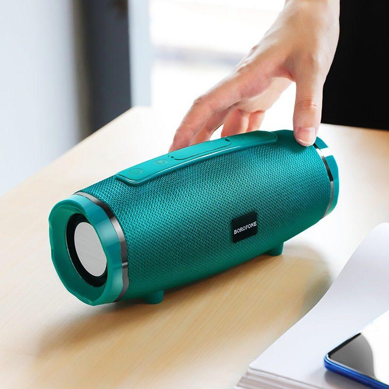 borofone br3 rich sound sports wireless speaker size