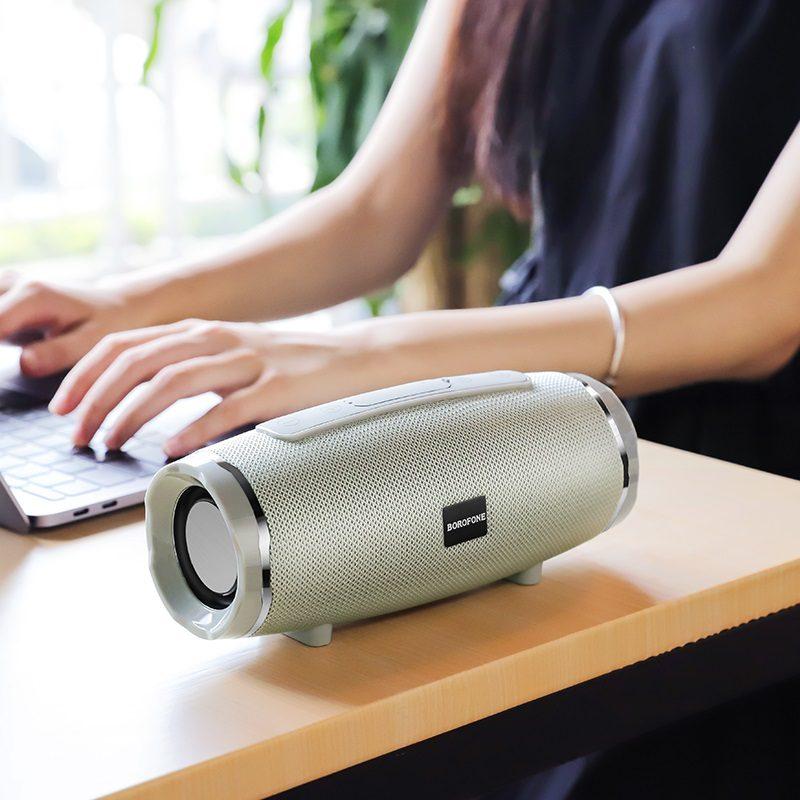 borofone br3 rich sound sports wireless speaker tabletop