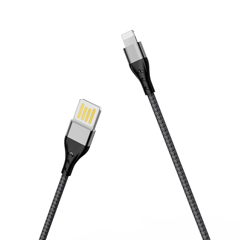 borofone bu11 tasteful charging data cable for lightning overview