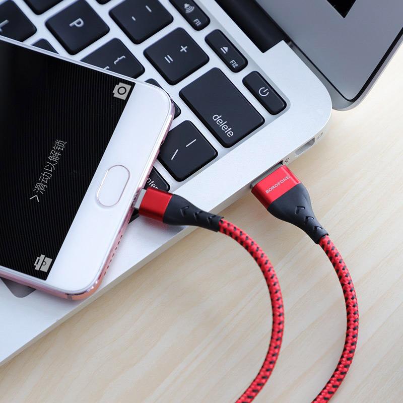 borofone bu11 tasteful charging data cable micro usb transfer